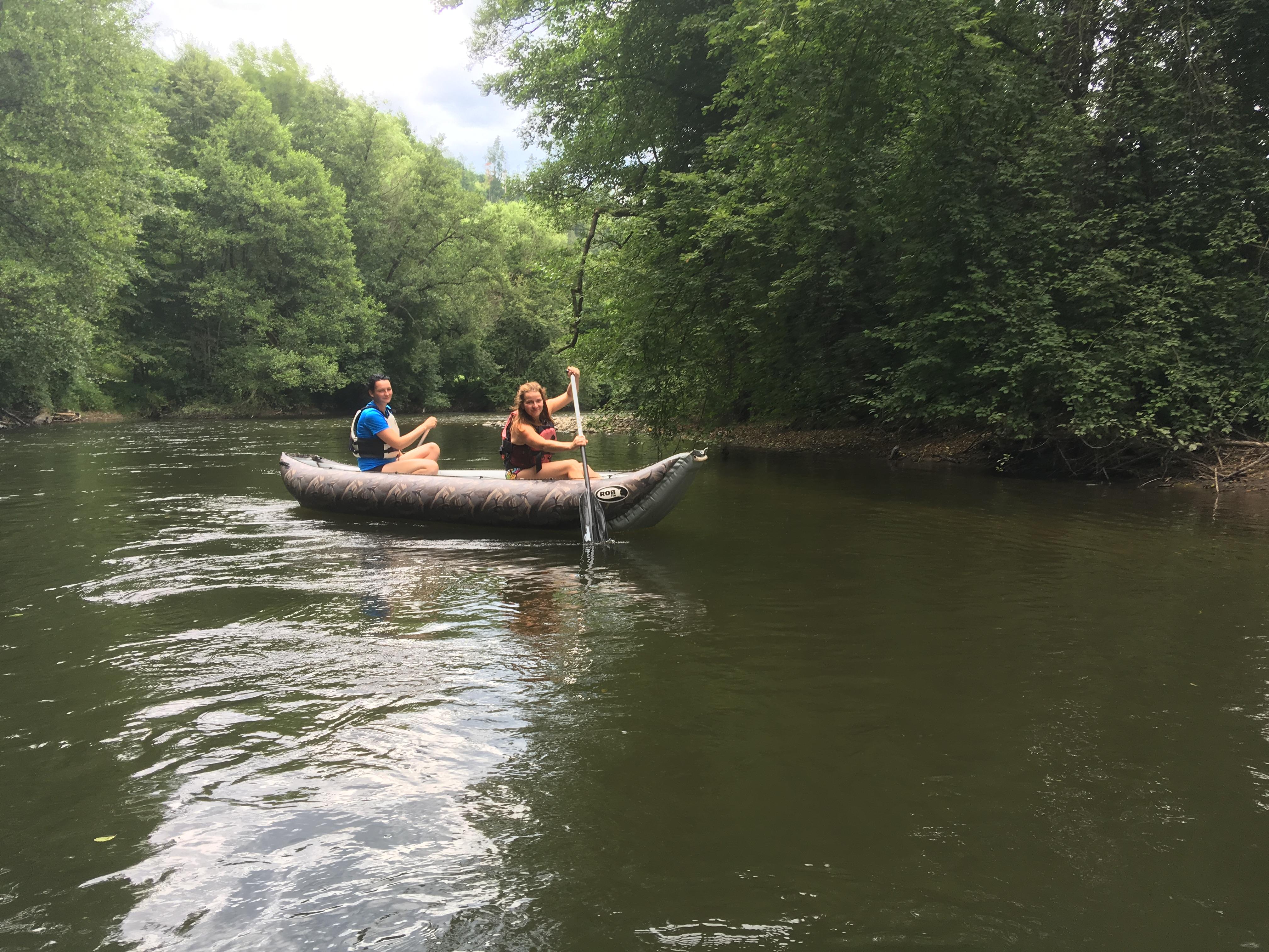 Rafting Hron